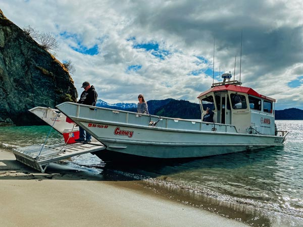 Water Taxi Homer Alaska - 49North Alaska Adventures