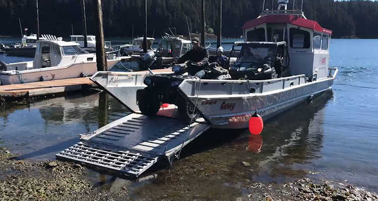 Equipment Transport Water Taxi Service 49 North 750×400